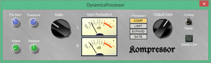 Kompressor RAFX 32-bit RAFX WIN